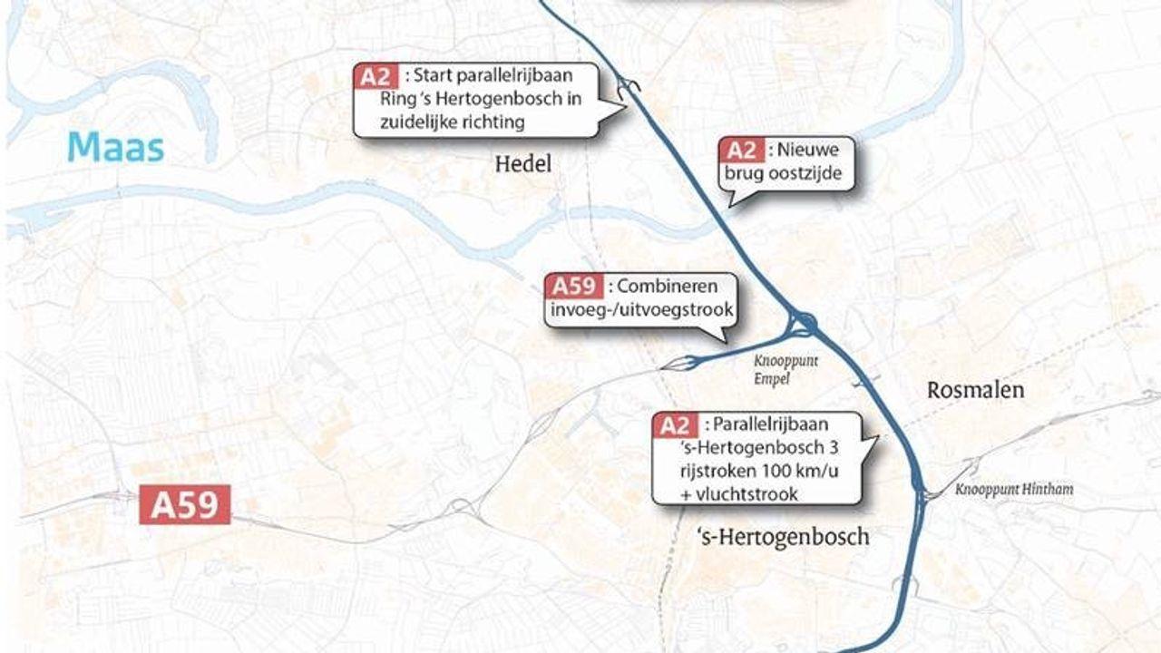 Meepraten over aanpassingen A2 bij Den Bosch