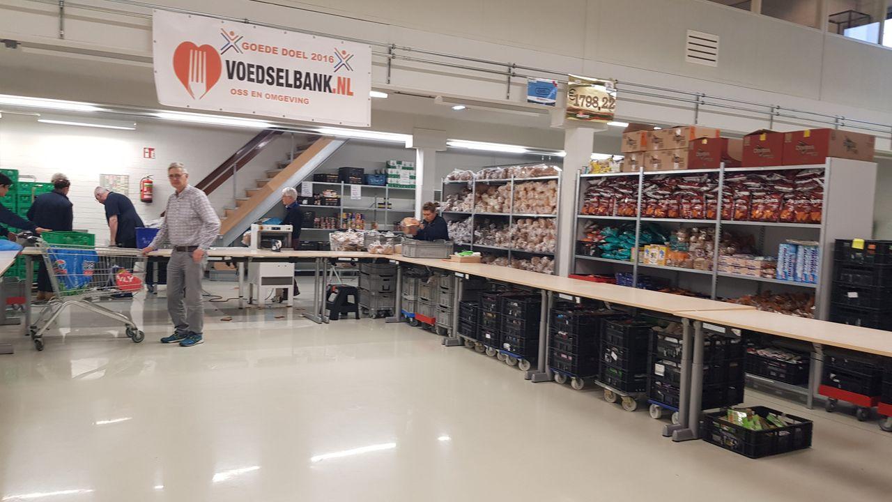 Kringloopbedrijf steunt Voedselbank Oss met 1000 euro