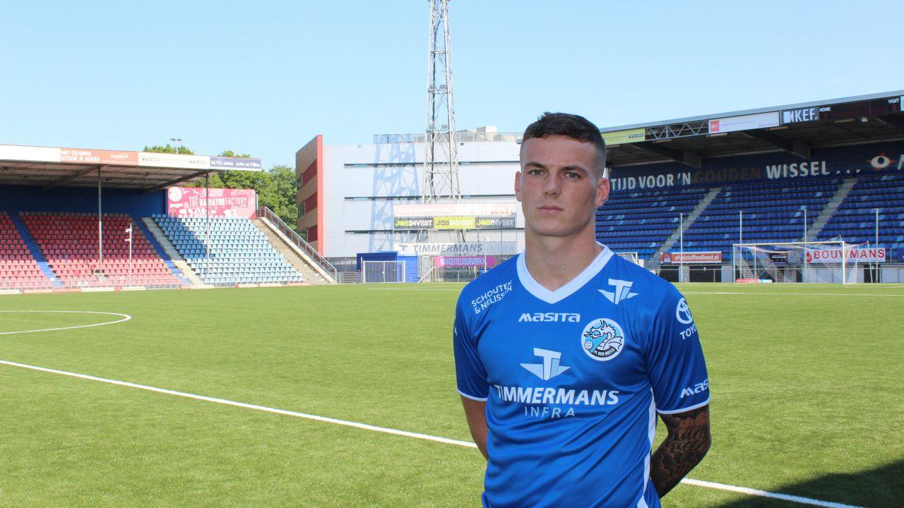 Jizz Hornkamp van FC Den Bosch genomineerd voor beste speler