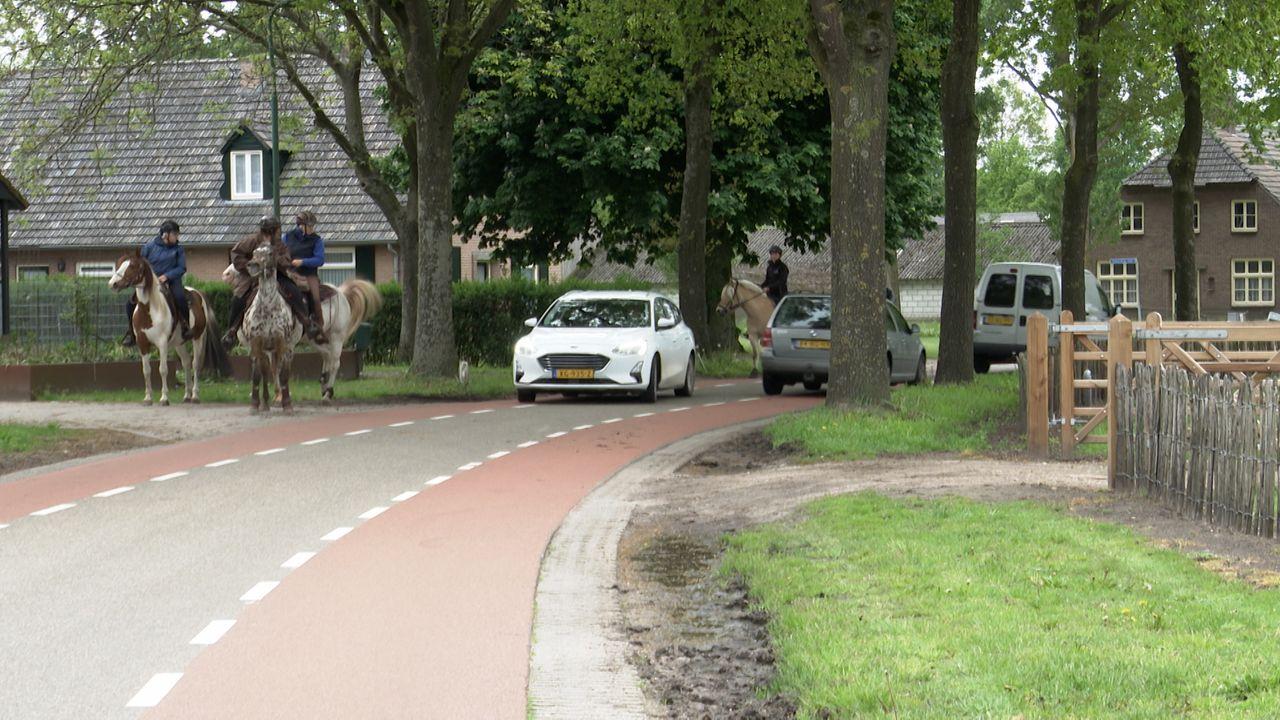Paardrijders in Heesch klaar met onveilige situatie in de Wijststraat