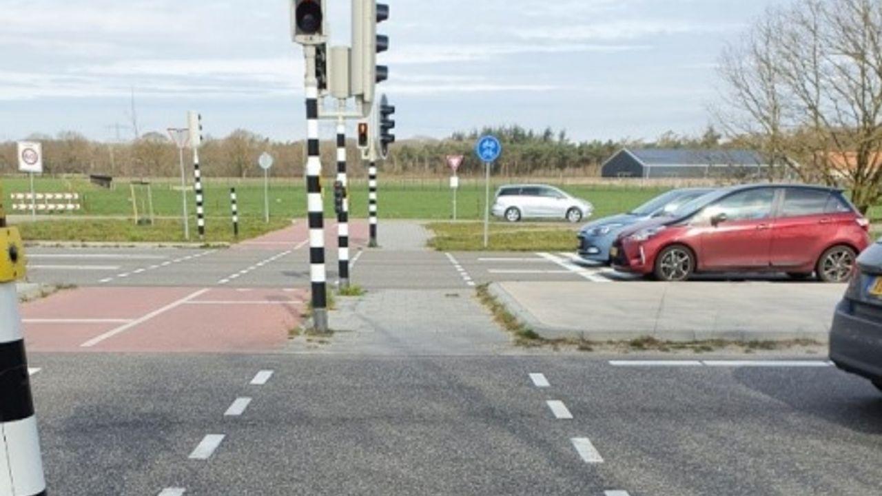 Licht langer op groen voor fietsers en voetgangers naar de Maashorst