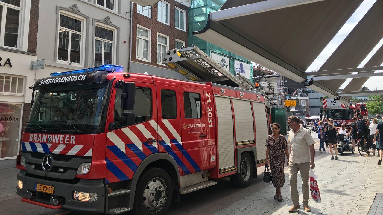Bossche brandweer in actie voor sigarettenpeuk