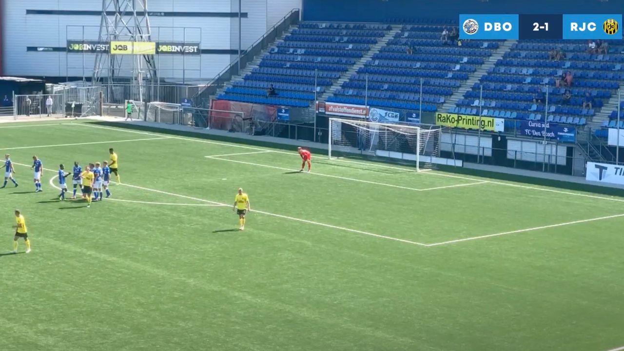 Strafschoppen helpen FC Den Bosch aan oefenzege op Roda JC