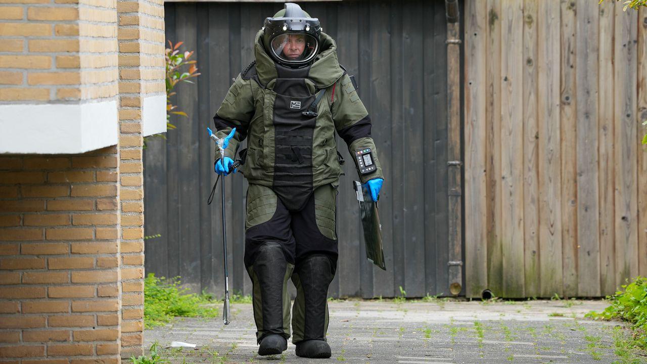 Opnieuw pijpbom aangetroffen in Professor Regoutstraat, nog geen verdachte aangehouden