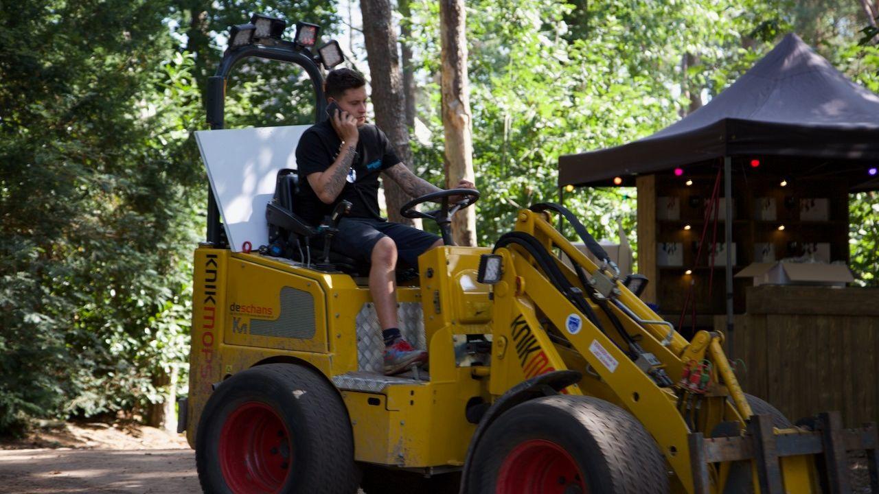 Berghemnaren helpen als vrijwilliger achter de schermen bij Hoessenbosch Festival