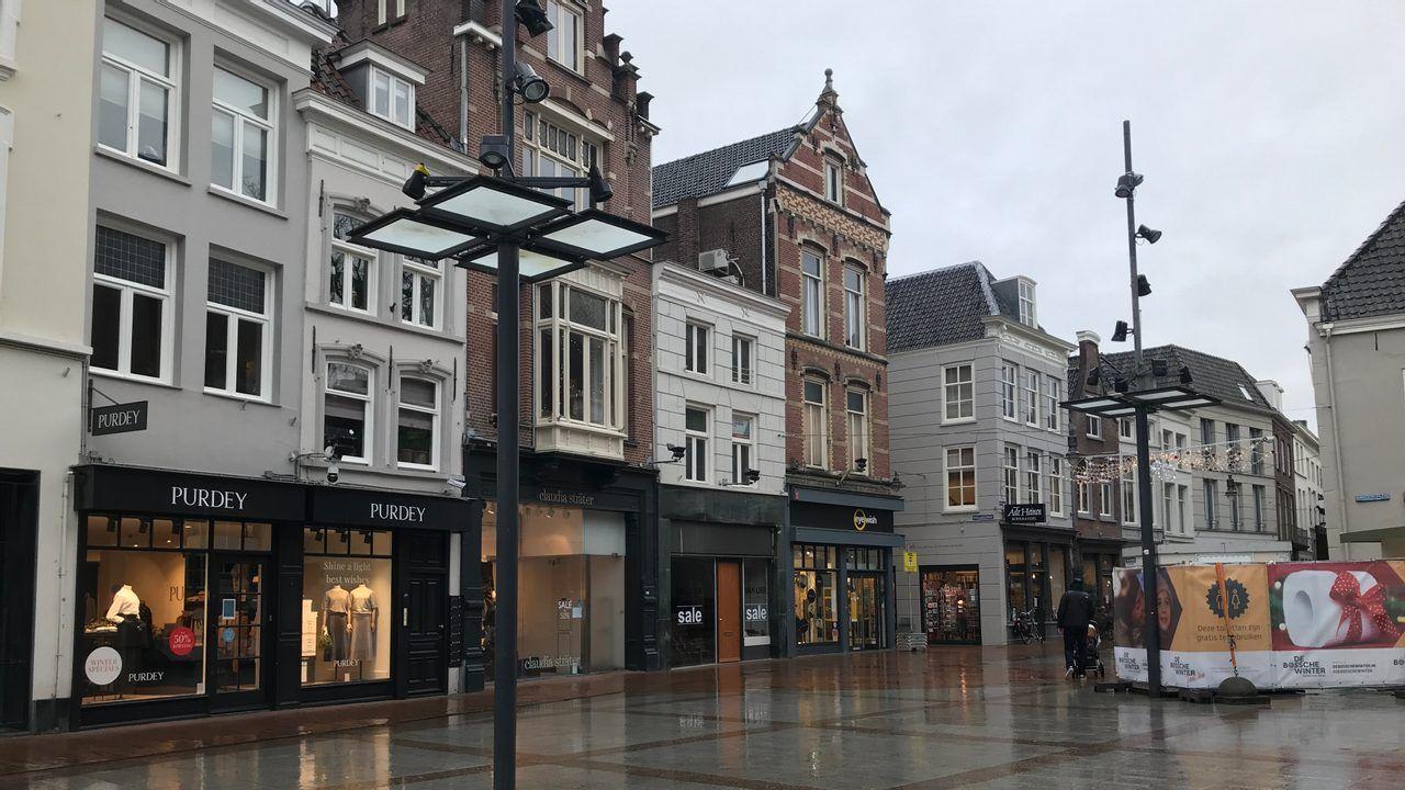 De winkelleegstand in gemeente Den Bosch is, tegen de verwachting in, gedaald