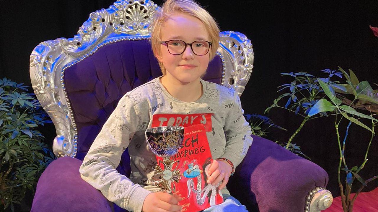 Luuk de Kok winnaar Bossche voorleeswedstrijd van Huis73