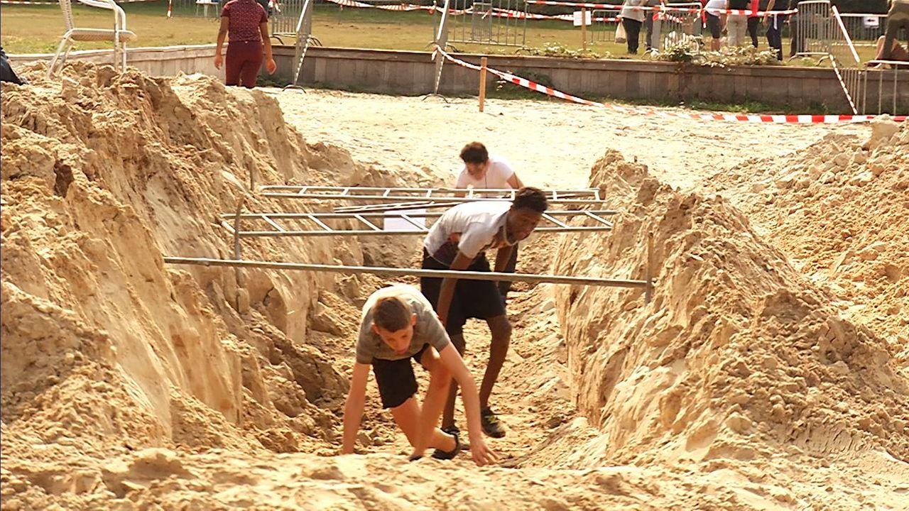 """Toch een Obstacle Run bij de Geffense Plas: """"Ik zou het wel vaker willen doen, maar niet elke dag."""""""