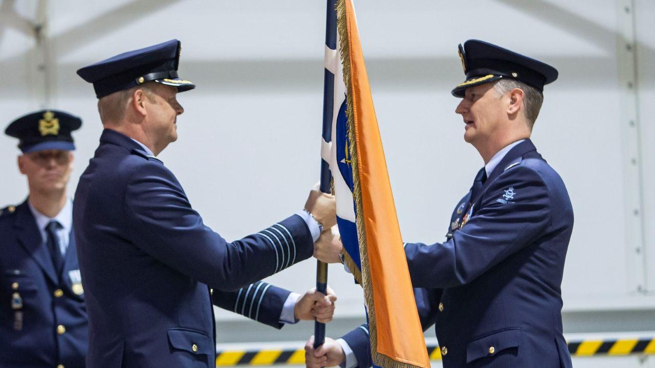 Kolonel Marcel van Egmond nieuwe commandant vliegbasis Volkel