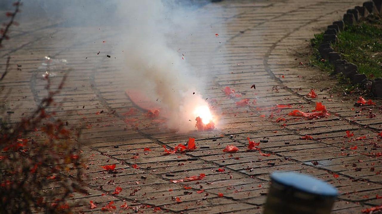 Aanhouding voor bezit illegaal vuurwerk