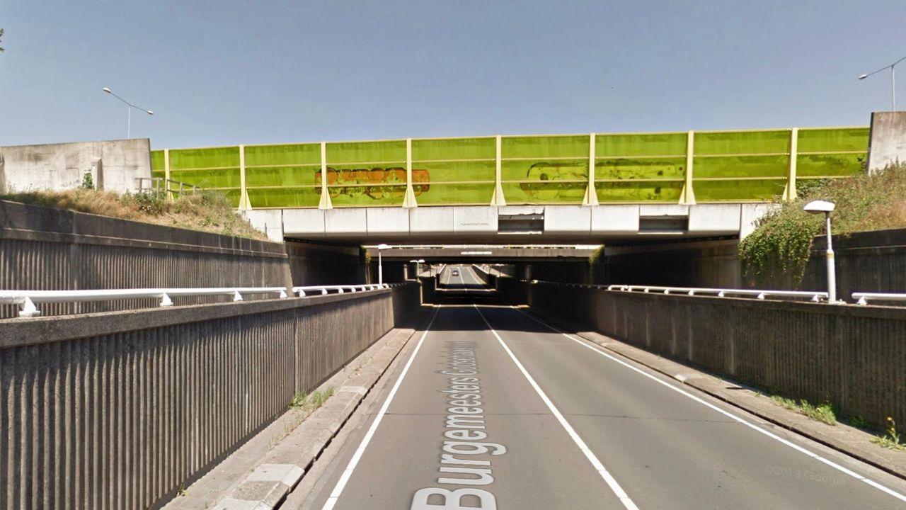 Werk aan viaduct en tunnel A2 bij Empel