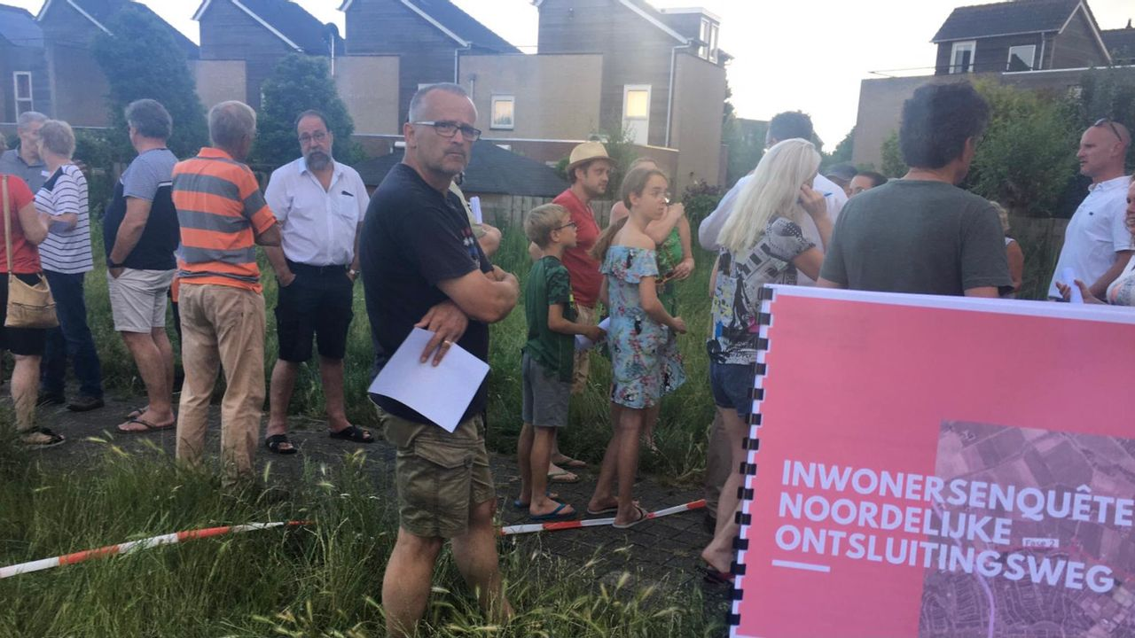 Enquête SP: bewoners Oijense Zij tegen plannen ontsluitingsweg Oss-noord