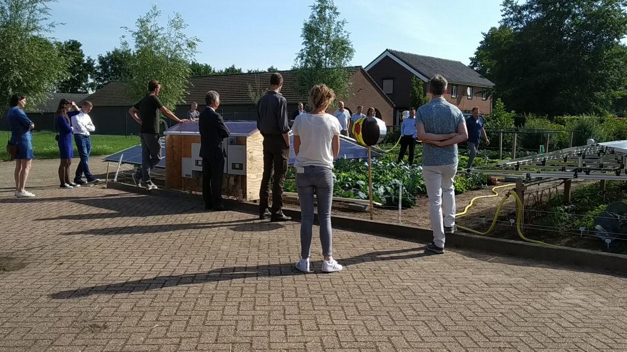 'Groentestroom' en groente in één bij Duurzaamheidspark