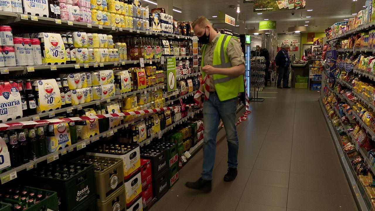 Alcoholverkoop na acht uur 's avonds aan banden: 'het verloopt prima'