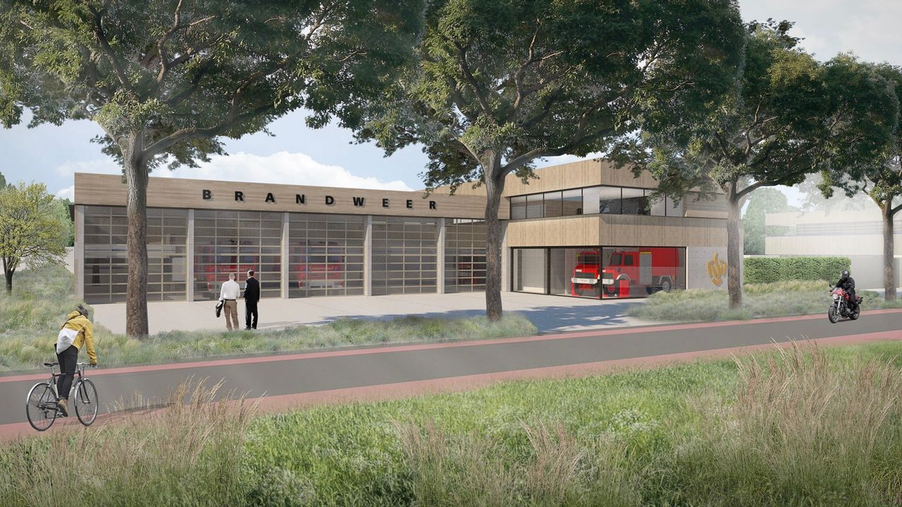 Bouw nieuwe brandweerkazerne Uden start na de zomer