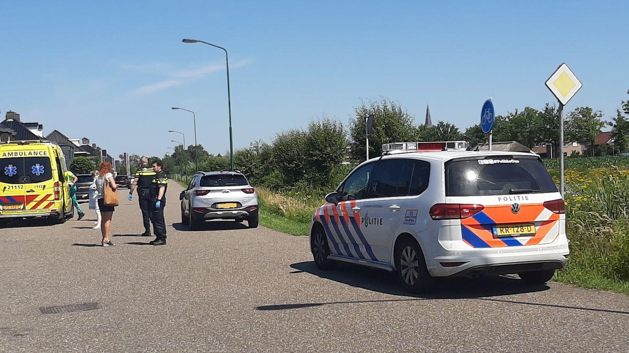 Scooter aangereden bij oversteken Angelenweg in Oss
