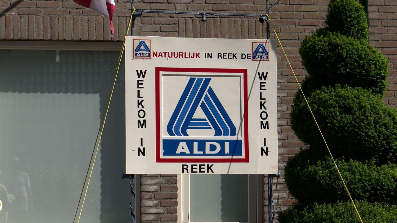 Eindelijk groen licht voor Aldi in Reek; 'Heel Reek straalt blijdschap uit'