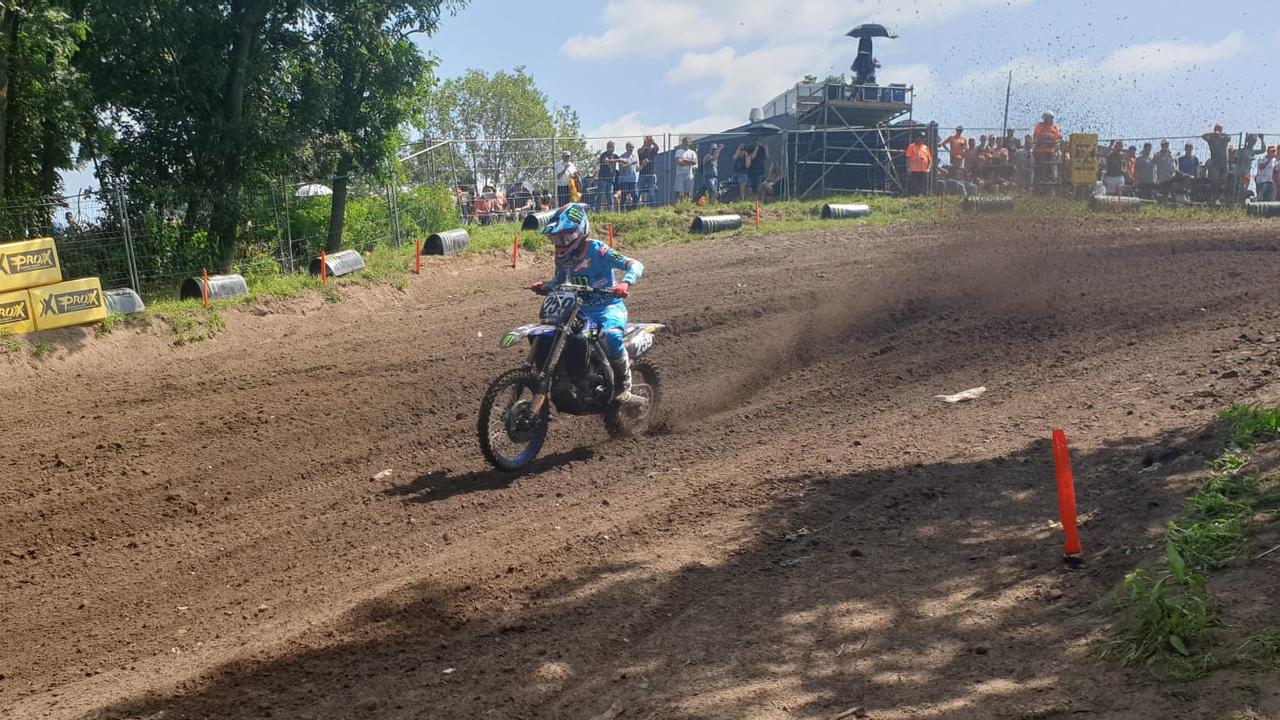 Glenn Coldenhoff twee keer vierde in MXGP Tsjechië