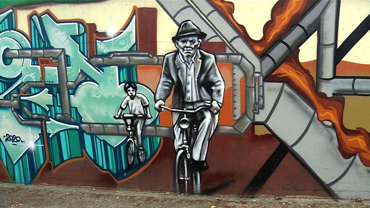 Graffitikunstwerk maakt tunneltje Ussen weer levendig