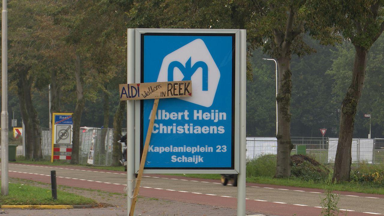 Bouw Aldi in Reek ligt stil: inwoners boycotten AH en Jumbo