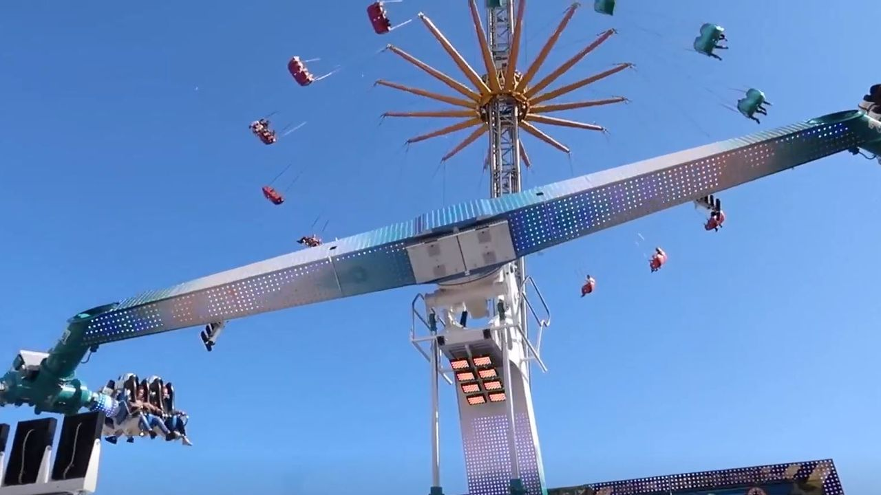Indrukwekkende attracties op de aangepaste kermis in Oss deze zomer