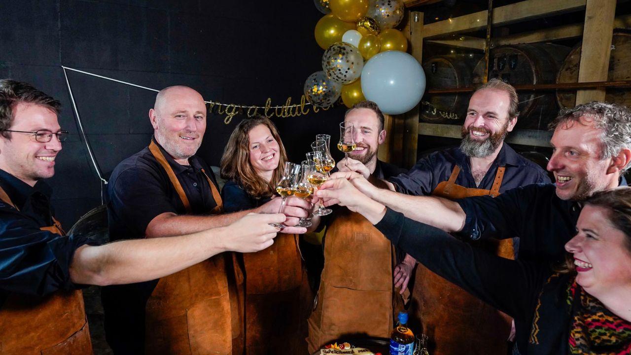 Loosbroekse whiskystokerij haalt 5 ton aan investeringsgeld binnen