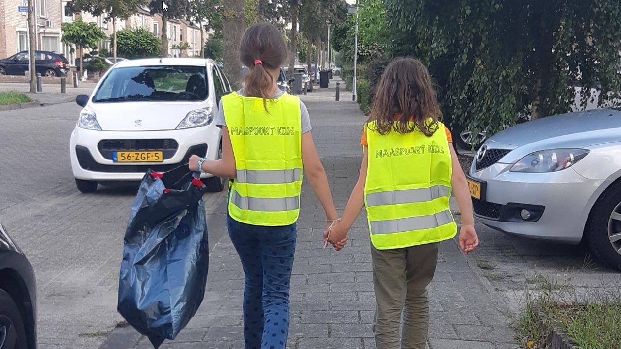 Maaspoort Kids gaan opruimen: 'behoorlijk rommeltje in de wijk'