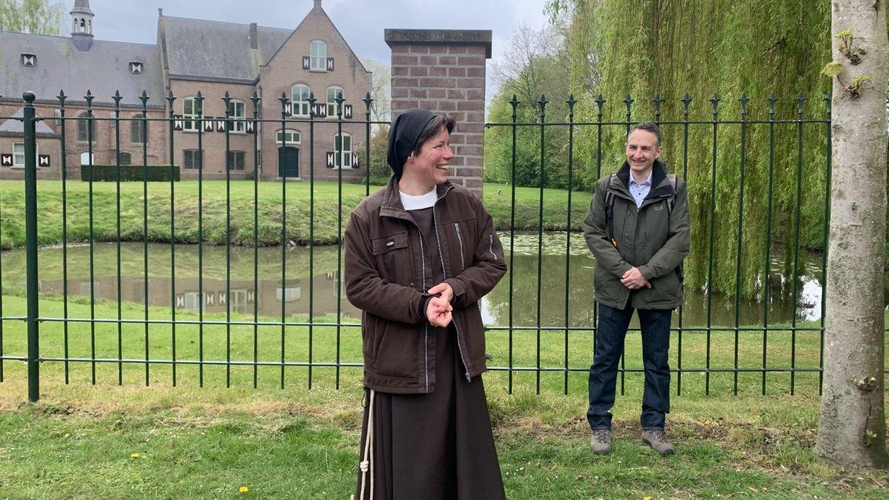 Ons Kloosterpad geopend, een wandelpad langs diverse kloosters in de regio