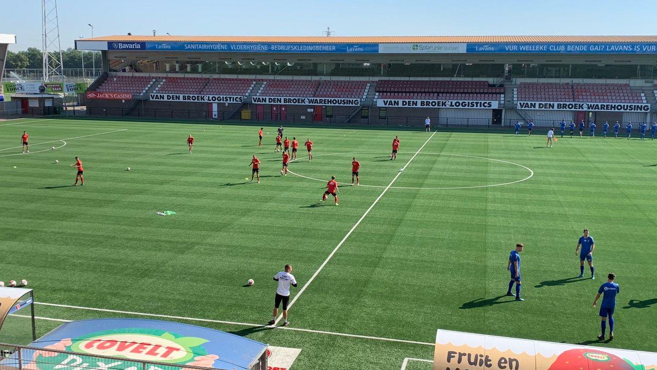 O.S.S.'20 start oefencampagne met nederlaag bij Helmond Sport