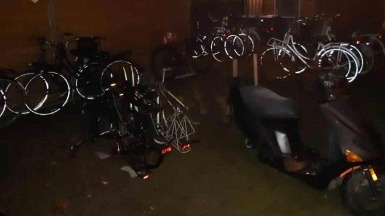 Bossche achtertuin staat vol met 'vermoedelijk gestolen' fietsen, verdachte aangehouden