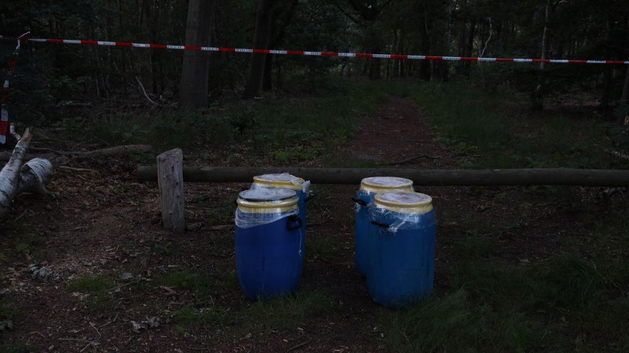 Nog vier drugsvaten in Odiliapeel gevonden