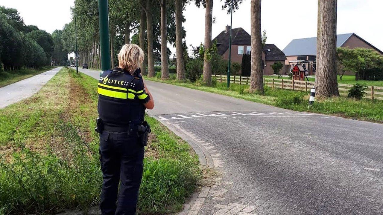 Politie bekeurt 9 hardrijders in Oss