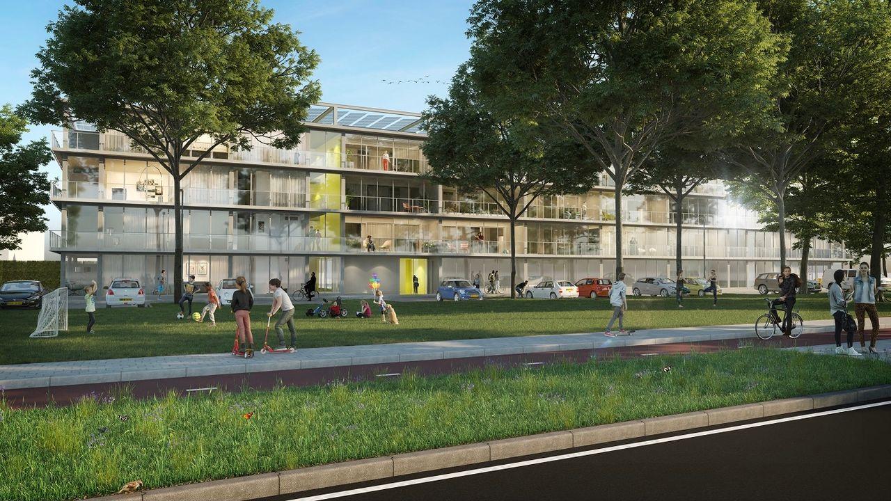 Bouw van nieuwe flats in Gestelse buurt Den Bosch gestart
