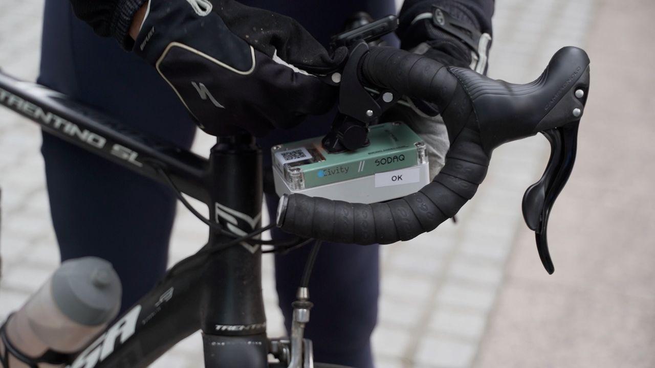 Data bij elkaar fietsen tijdens Data Week: 'Om te kijken waar er moet worden ingegrepen'