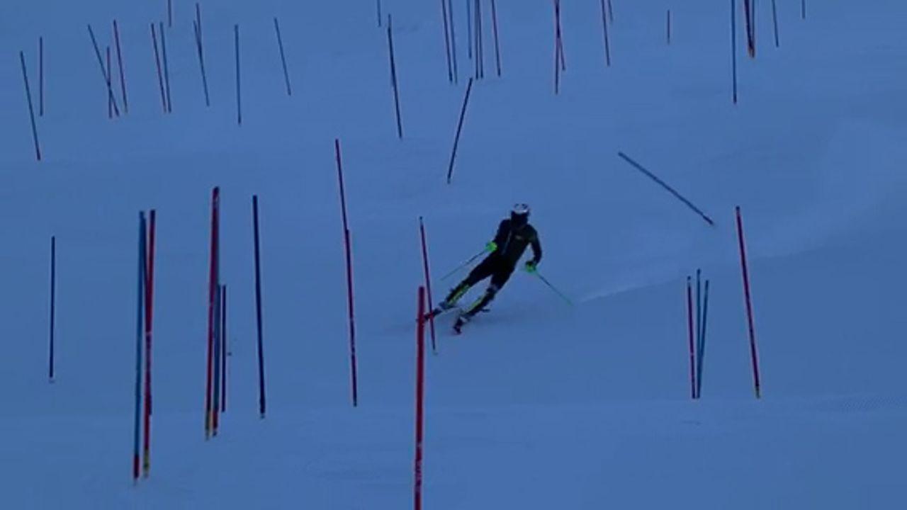 Skiër Jannes Beuker traint door ondanks Oostenrijkse lockdown