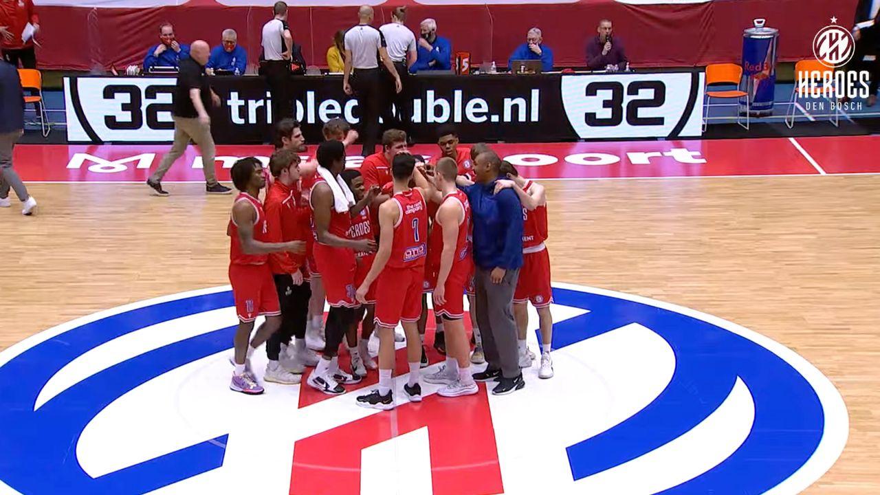 Heroes Den Bosch slaat kwalificatie over en is rechtstreeks geplaatst voor poulefase FIBA Europe Cup