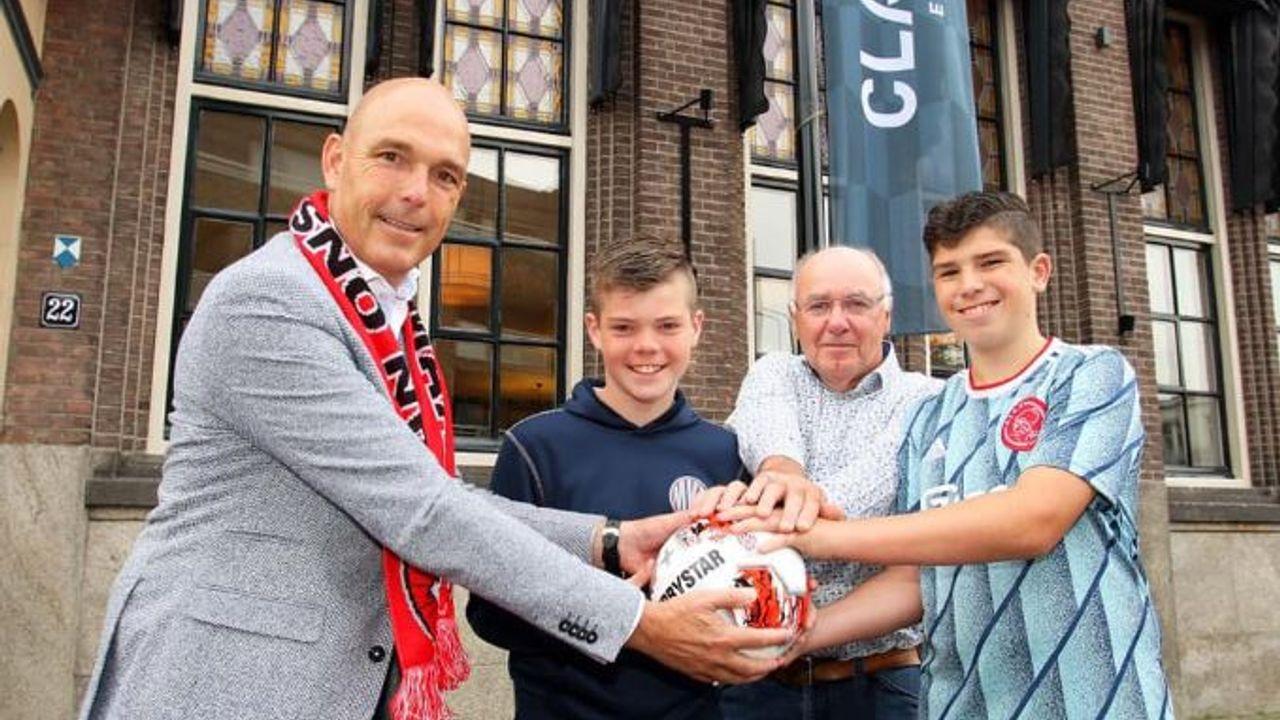Vijf uitgereikte wedstrijdballen voor vijf geannuleerde thuiswedstrijden TOP Oss