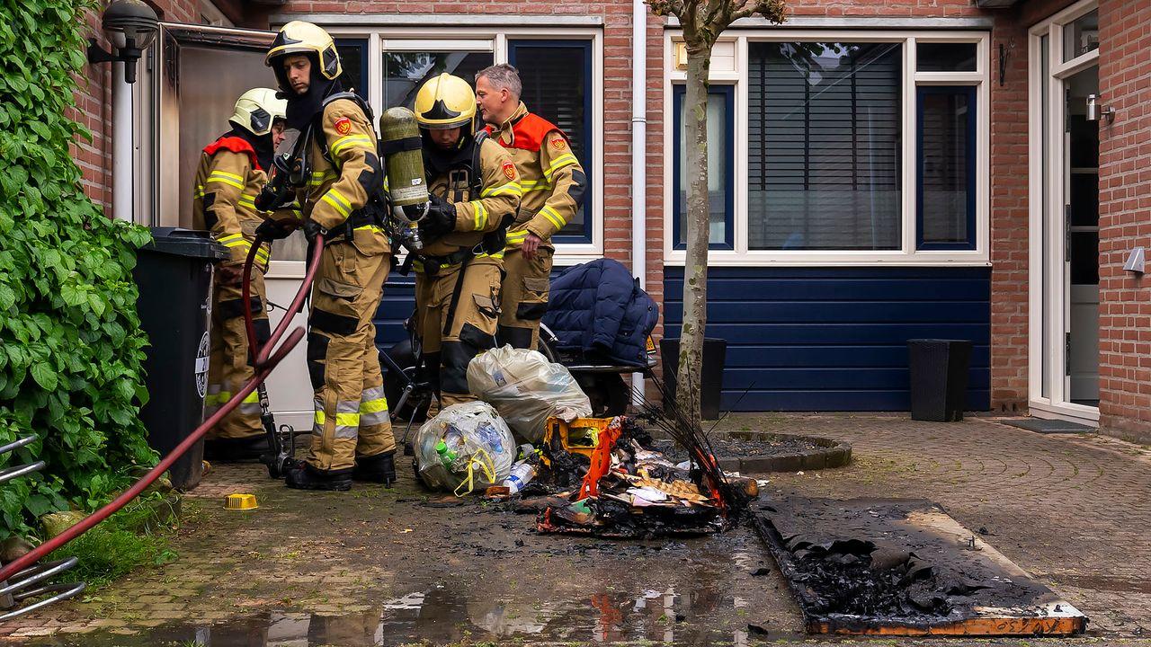Vlammen in garage: 'wees alert op broei'