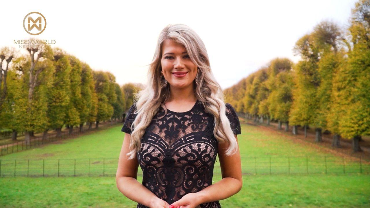 Hoe 'Mandy uit de Maaspoort' het schopte tot Miss World Nederland-finaliste