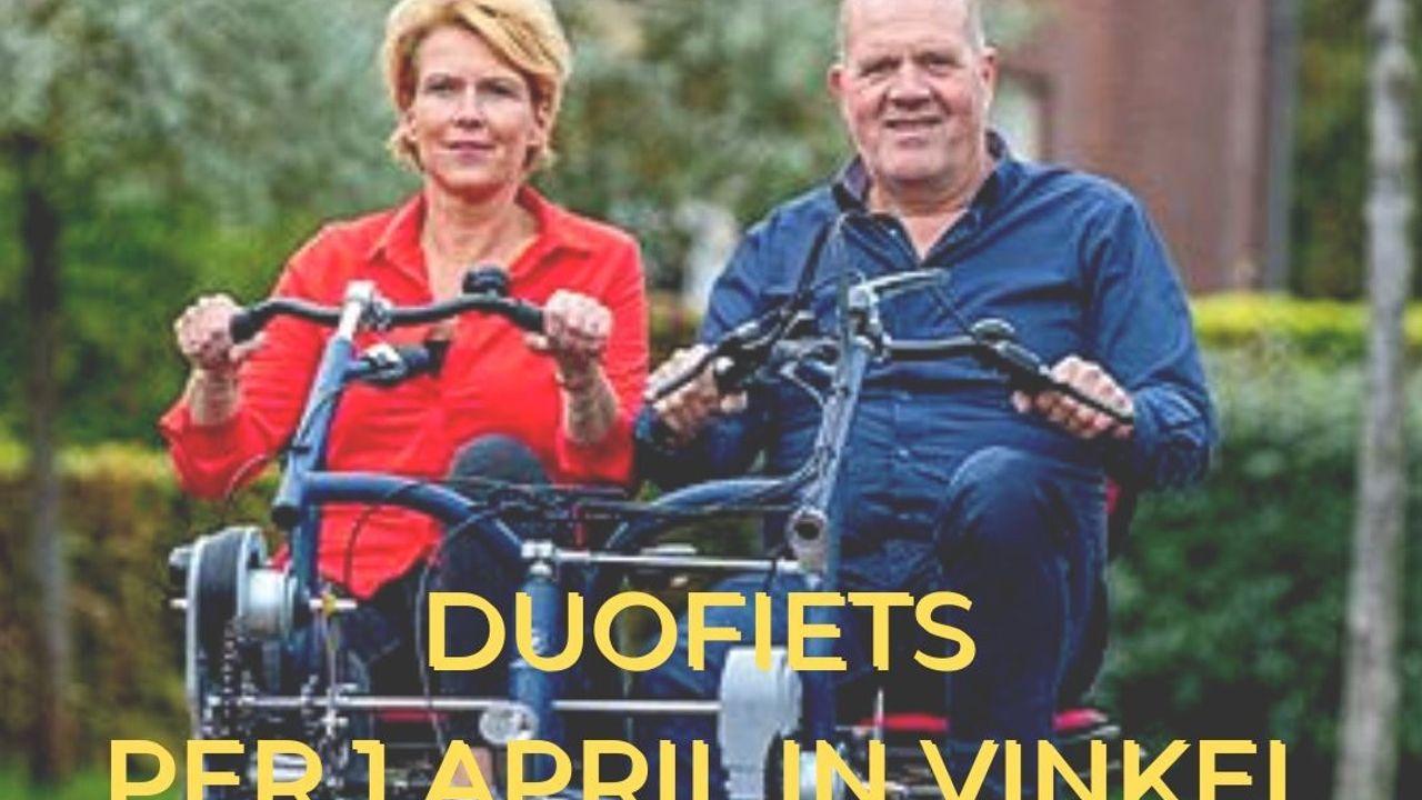 Lenen van elektrische 'duofiets' vanaf 1 april mogelijk in Vinkel