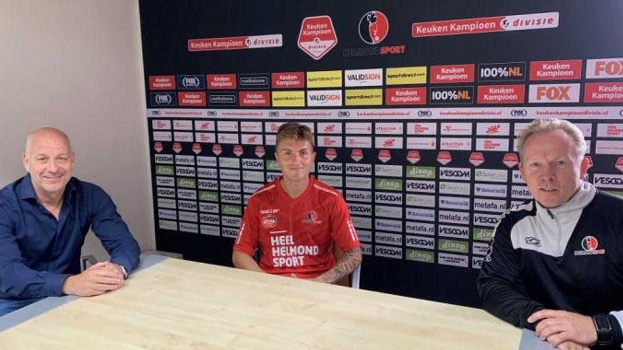 Dean van der Sluijs verlaat TOP nogmaals, nu voor avontuur in Helmond