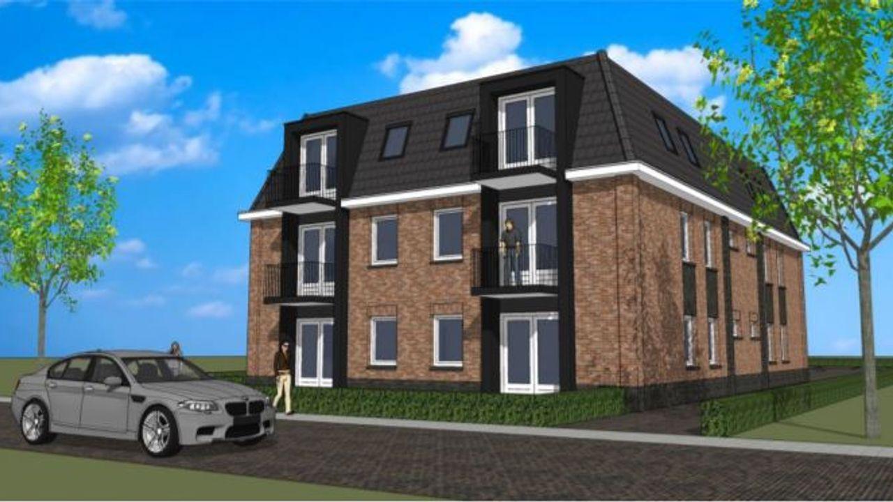 Plan voor nieuwe appartement zorgcomplex Driestroomhuis Met Elkaar