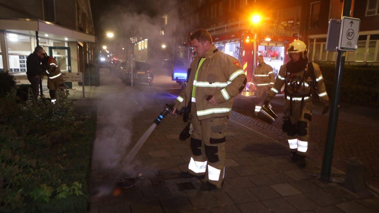Oven vat vlam in appartement Sint-Oedenrode