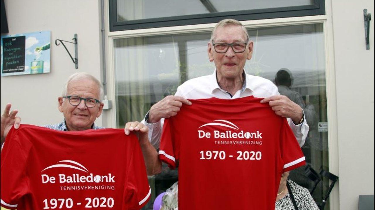 Tennisvereniging de Balledonk viert 50-jarig bestaan