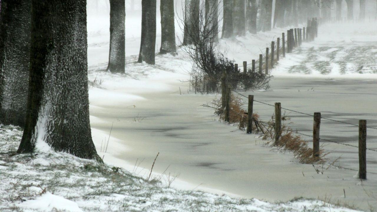 Waterschap: Sneeuw en ijs goed voor grondwaterpeil