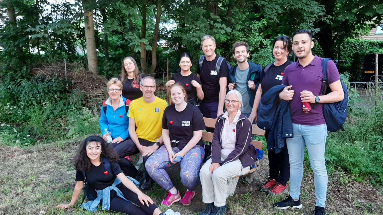 Team Thuis in Oss klaar voor Nacht van de Vluchteling