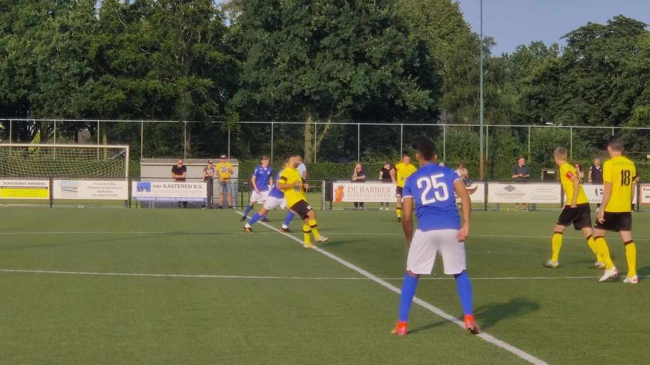 FC Den Bosch legt het af tegen derdedivisionist UNA