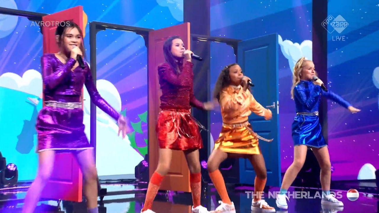 Vierde plaats op Internationaal Junior Songfestival voor UNITY van Naomi Traa uit Heeswijk-Dinther