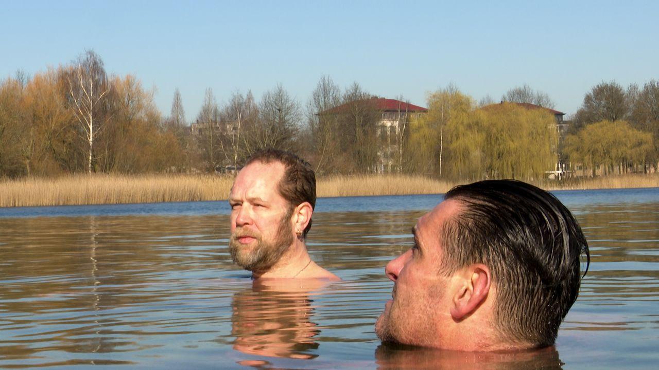 Bossche 'Iceman' duikt dagelijks in Noorderplas: 'Voel mij er supergoed door'