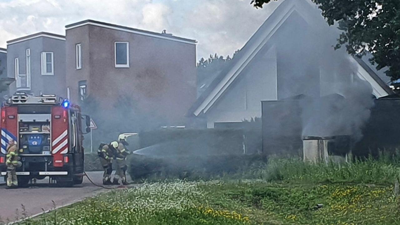 Brand in elektriciteitskast, deel Heesch zonder stroom